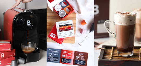 Don't miss B-Coffee Co. Discovery Pack for every order on GERALD.ph!!