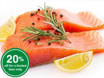 Salmon Fillet Portions