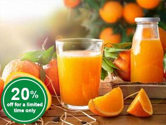Mandarin Oranges Fruit Purée