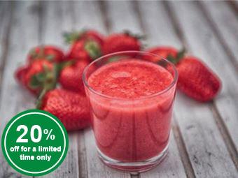 Strawberry Fruit Purée