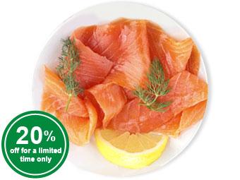 Smoked Salmon (sliced) 500g