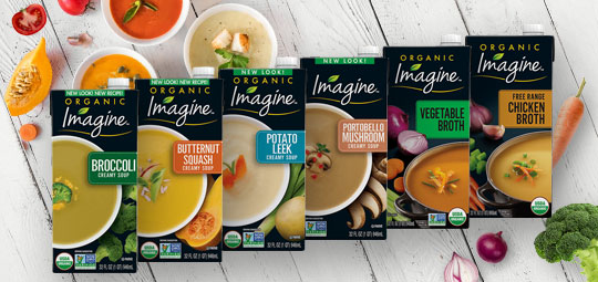 Rainy Day Special: Get 20% OFF Organic Creamy Soups & Broths