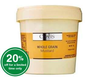 Whole Grain Mustard - 1 KG
