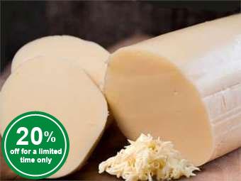 Premium Mozzarella Log