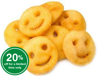 Smiley Face Fries