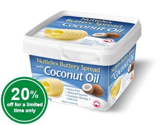 Buttery Coconut Oil Spread