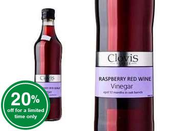 Raspberry Red Wine Vinegar