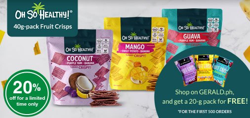 Get 20g-pack Oh So Healthy Fruit Crisps for Free!