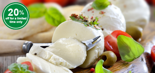 20% OFF New Mozzarella Cheeses & Fruit Jams - Quality Pinoy Made