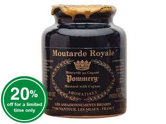 Pommery® Royal Mustard with Cognac