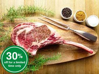 Wagyu Tomahawk Steak