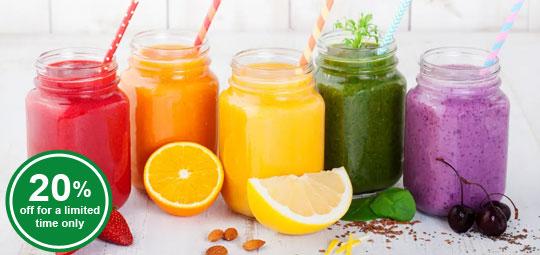 Get 20% OFF Fruit Purées