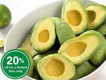 Avocado Halves - Frozen