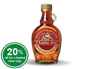 Maple Joe Maple Syrup