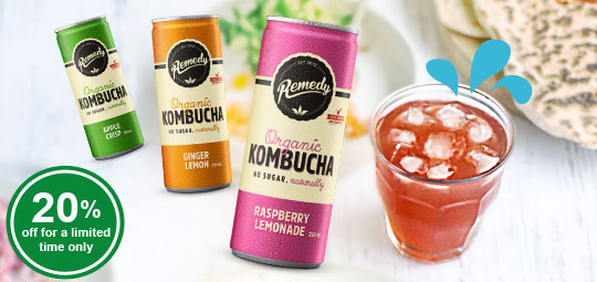 Don't Miss Out: 20% OFF Healthy Organic Kombucha