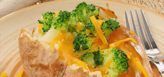 Broccoli & Cheddar for Baked Potatoes