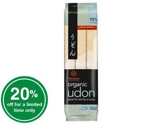 Organic Udon