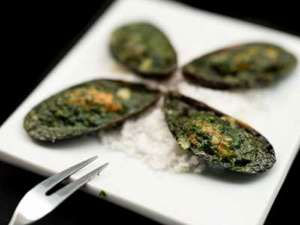 Mussels in Garlic Butter
