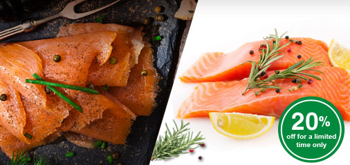 Back-to-Back: Get 20% OFF Best-Selling Smoked Salmon & Salmon Fillet Portions