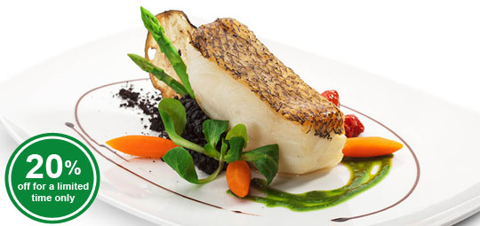 Seafood Special: 20% Best-Selling Chilean Sea Bass Fillets
