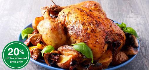 BLACK FRIDAY SALE: Get 20% OFF Free-Range Chicken!