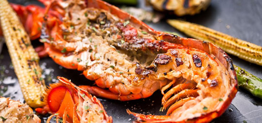 Classic Grilled Lobster