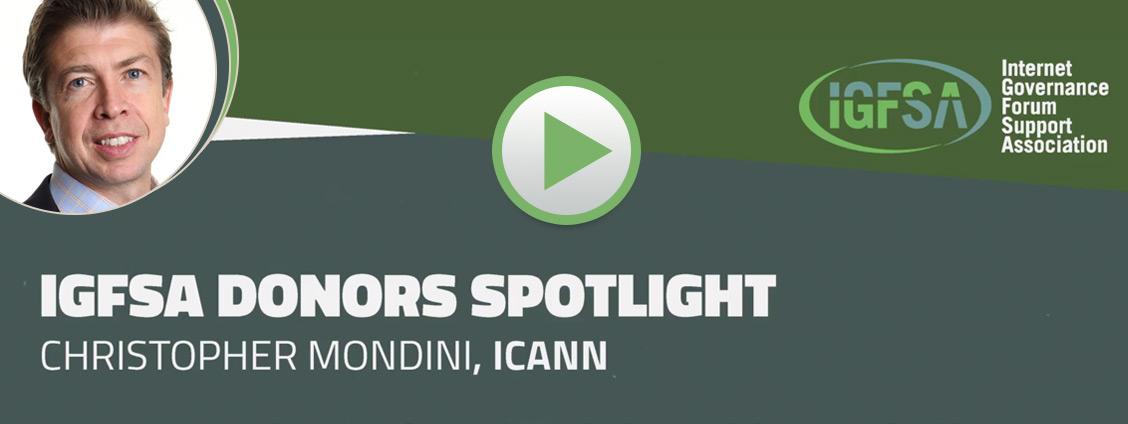 IGFSA Donors Spotlight - with Christopher Mondini