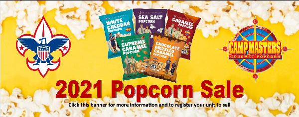 2021 Popcorn Sale