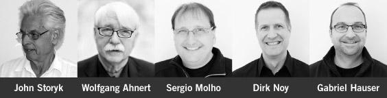 John Storyk, Wolfgang Ahnert, Sergio Molho, Dirk Noy, Gabriel Hauser