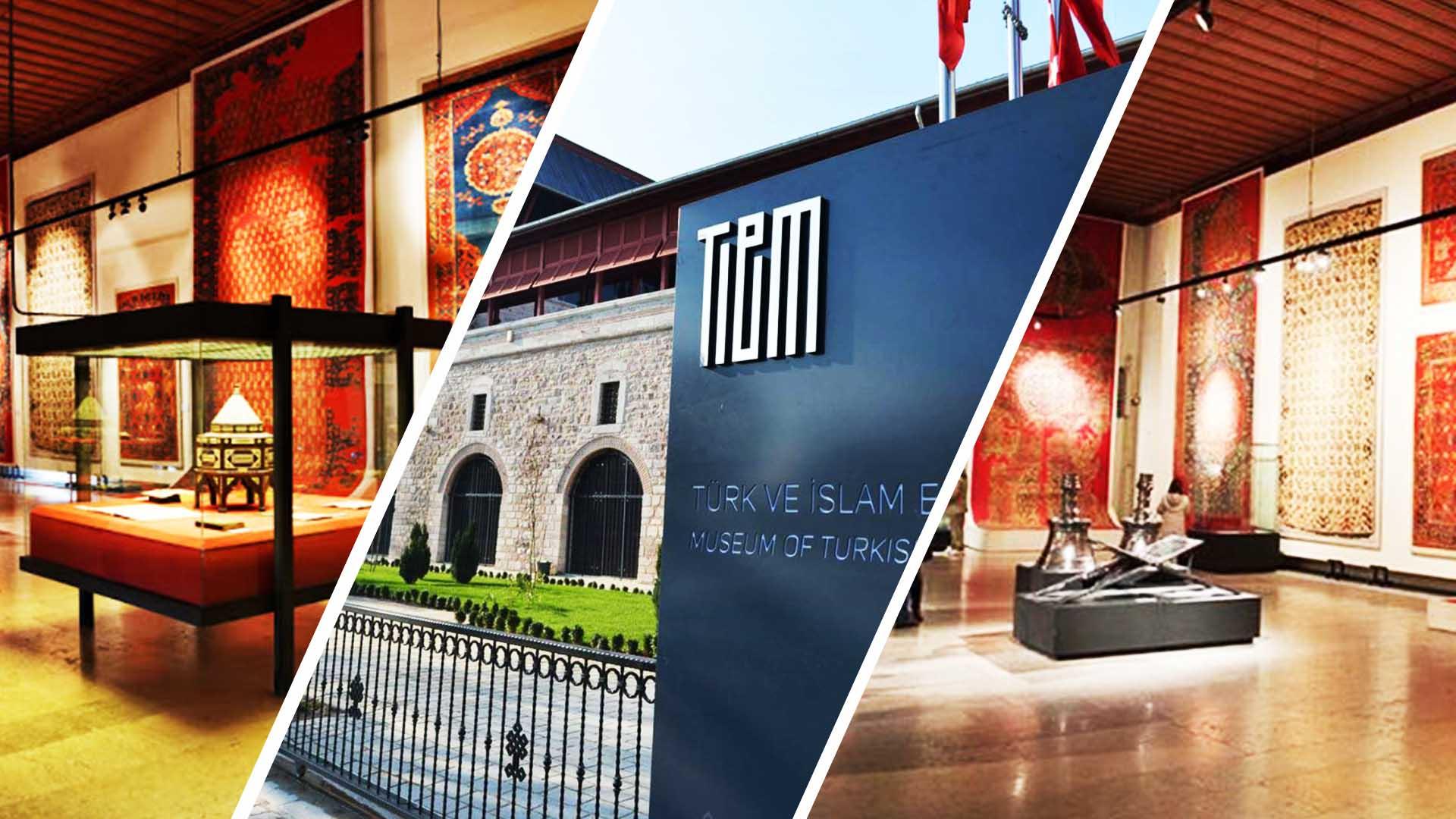 يقع متحف الفنون الإسلامية التركي في منطقة السلطان أحمد بجوار الجامع الأزرق . يمكنك أيضا زيارة ميدان السلطان أحمد الذي يقع بين المسجد الأزرق و متحف الفنون الإسلامية التركية