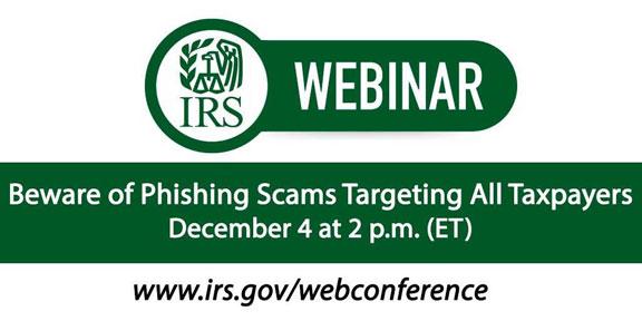 IRS webinar image