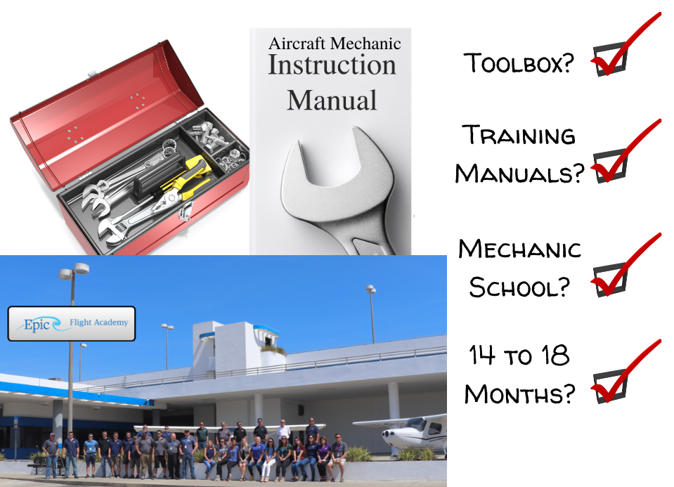 What it takes to become aircraft mechanic
