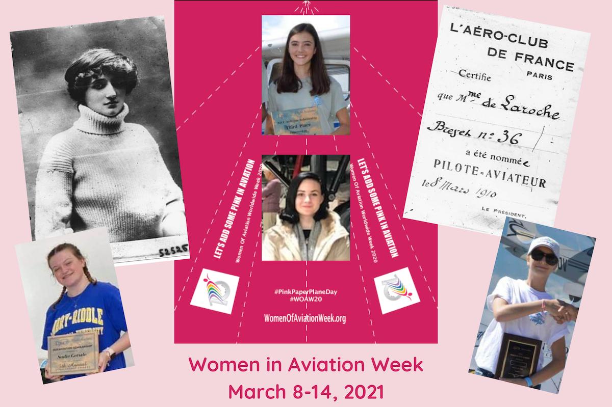 Women in Aviation Week March 8-12