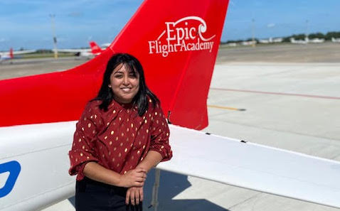 Cilia Salam - Intern from Embry-Riddle