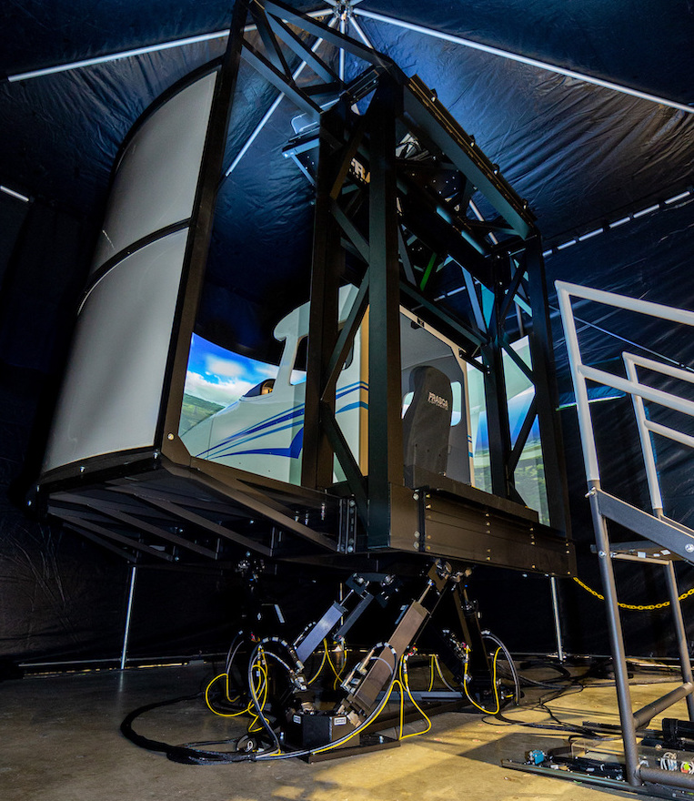 First in World Motion Simulator