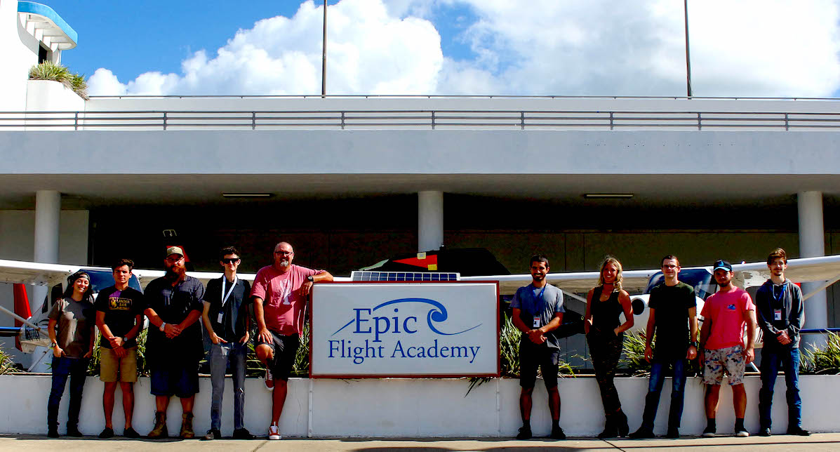 Epic Flight Academy first class of aircraft mechanics