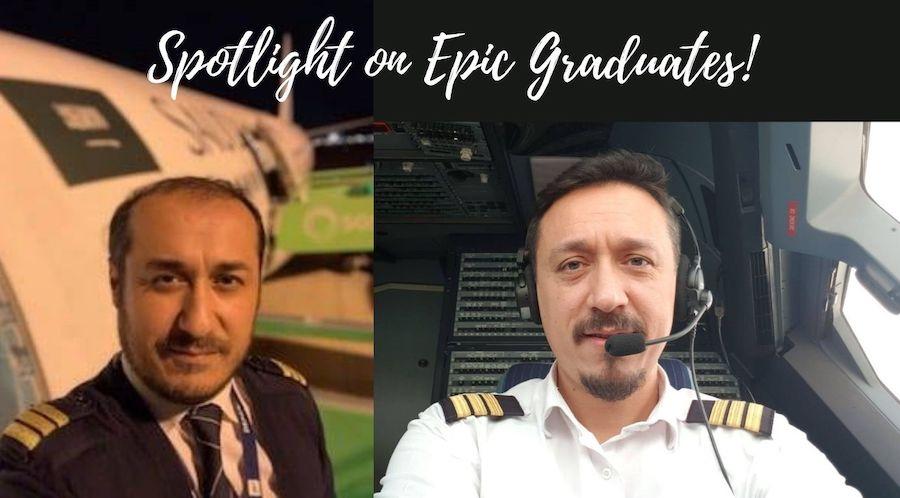 Epic Alumni Aytac Canik and Yildiray Canik