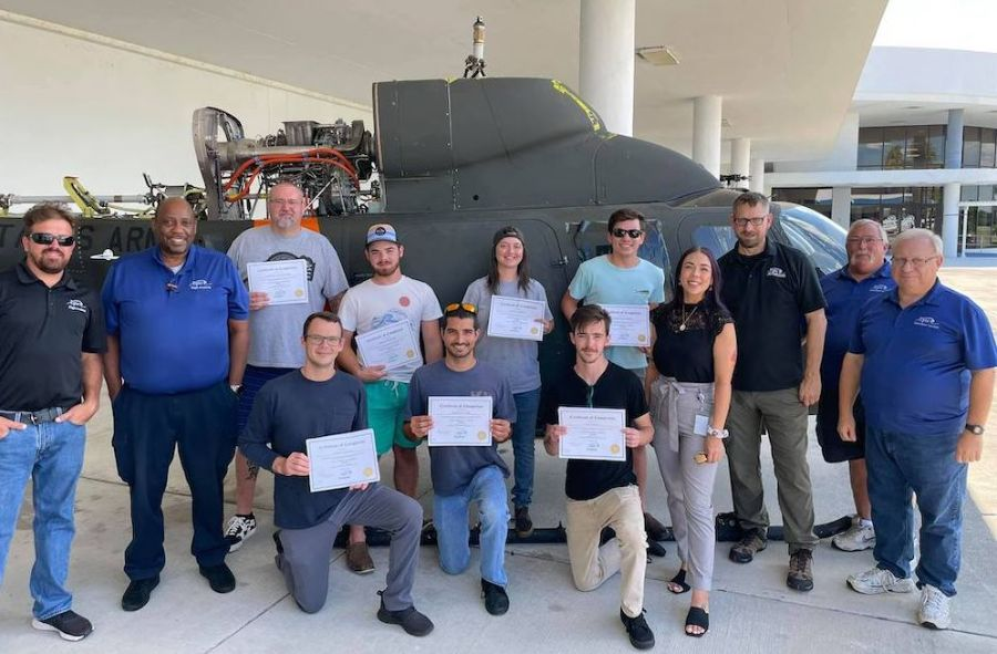A&P Students Complete Airframe Training