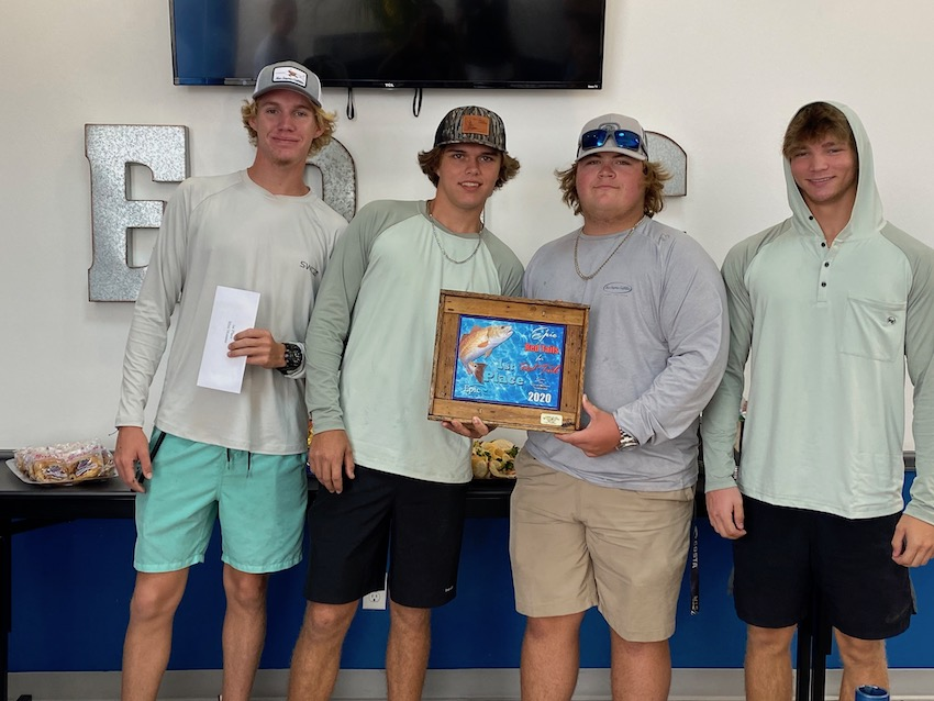 5th Annual Fishing 1st Place