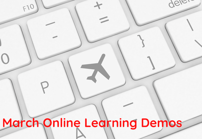 March Online Learning Demos