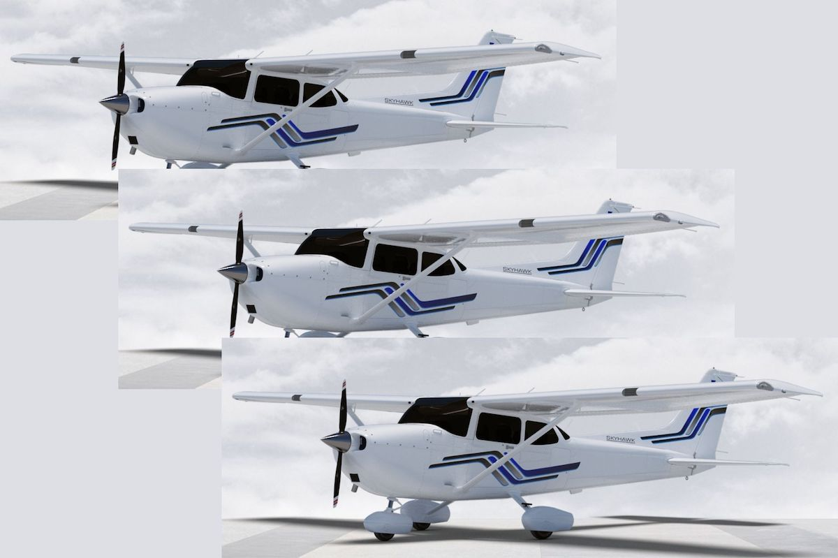 3 New Cessna Aircraft Arriving
