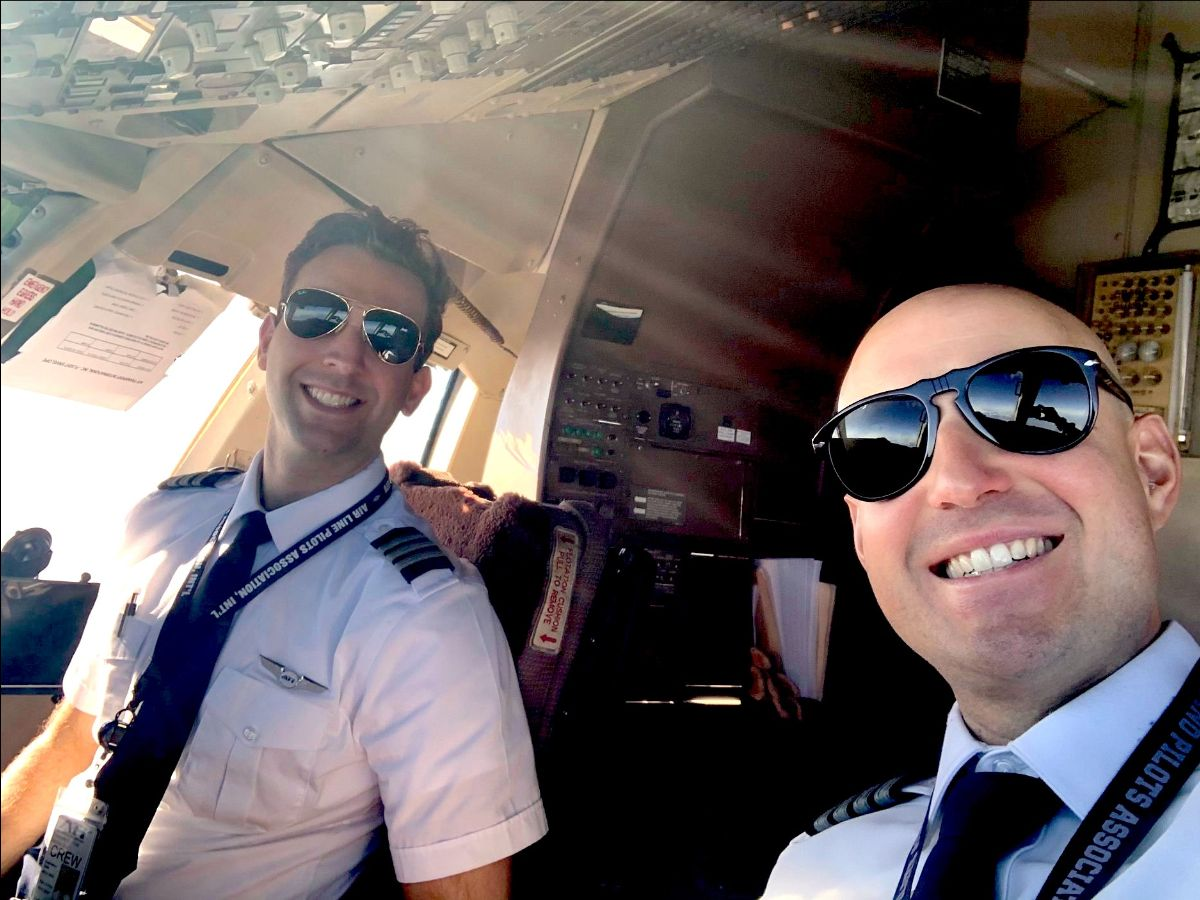 Former Epic instructor and Epic grad now fly for Air Transport International