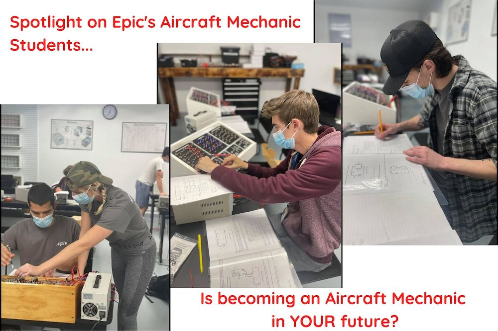 Aircraft Mechanic Students at Epic