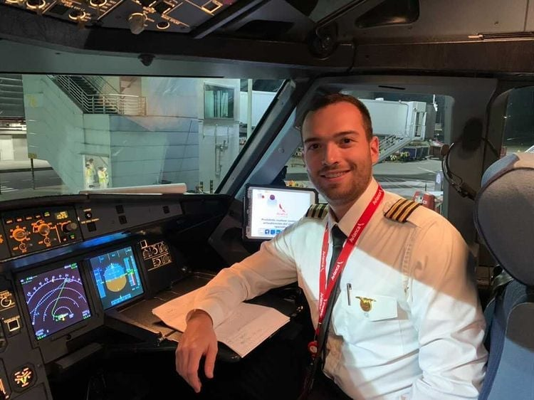 First Officer Luis Palaez