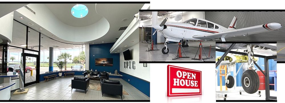 Open House Aircraft Mechanic Facility