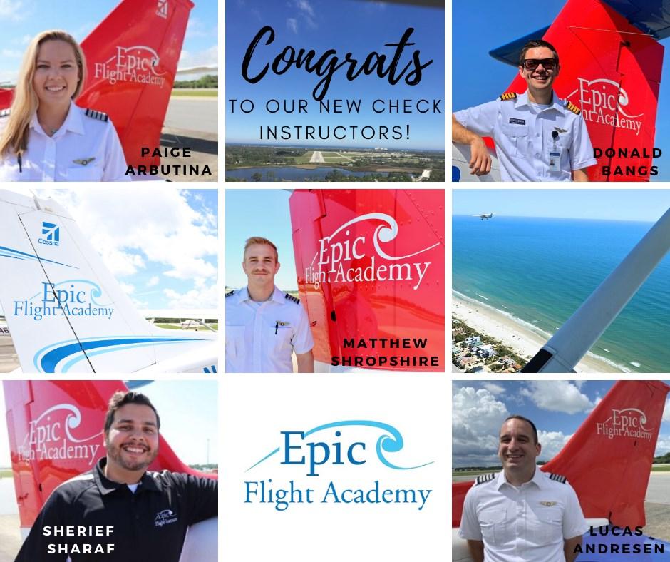 New Flight Instructors April 2020