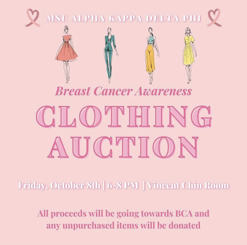 MSU aKDPhi: Breast Cancer Awareness Clothing Auction