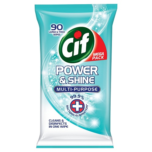 Cif Wipes Original Antibacterial 90pc