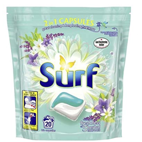 Surf Duo Capsules Herbal Extract 20pcs