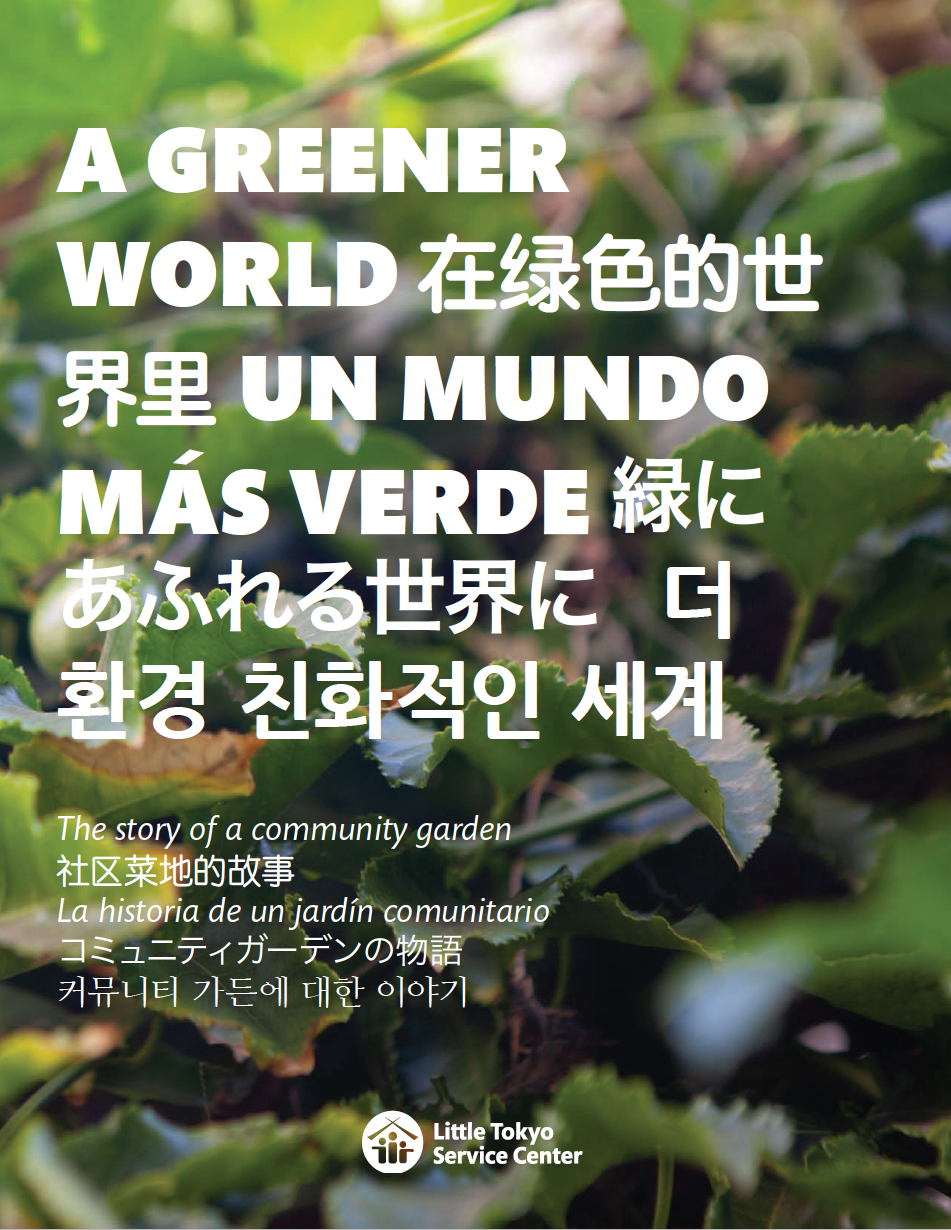 'A Greener World' zine cover